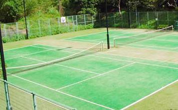 ハジット山公園テニスコート