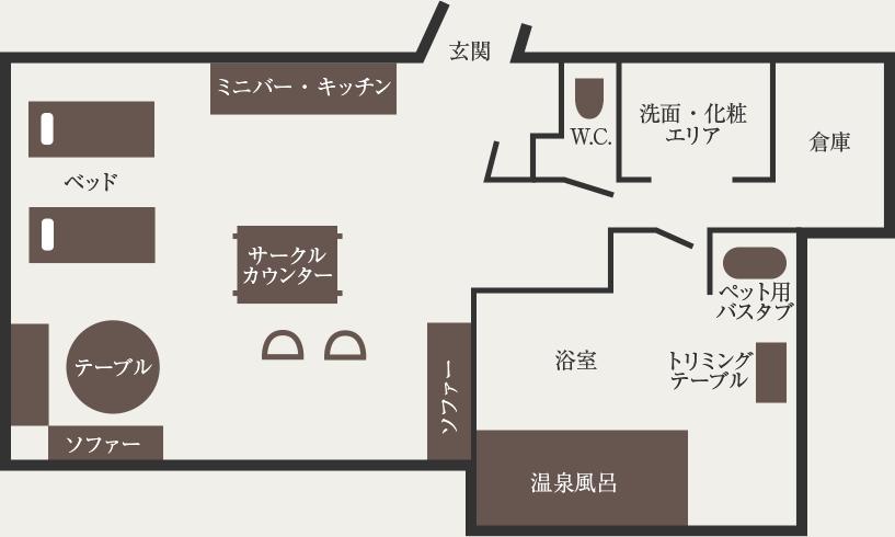 AZITO平面図